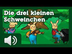 Die drei kleinen Schweinchen - Geschichten für Kinder - Videos für Kinder - YouTube