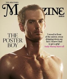 Twitter / TimesMagazine: Andy Murray Uncovered.