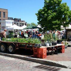 Made the top ten farmers' markets in the U.S.--Omaha Farmer's Market, Omaha, NE