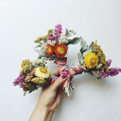 Mini Floral Sage Smudge Wand Aquarian Soul