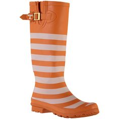 Lillybee U Tennessee Volunteers Women's Rain Boots with Logo Snap