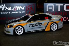 RC Drift Car Team-D Lexus. Made by Django