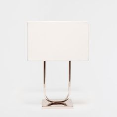 METAL ARCHED BASE LAMP