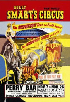 Billy Smart's New World Circus