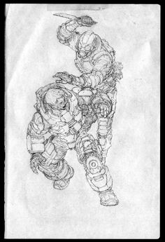 Drawing Note - 07, Jong Hwan on ArtStation at https://www.artstation.com/artwork/drawing-note-07