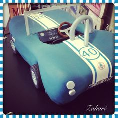Ac Shelby cobra car made and designed by Dina from zahari