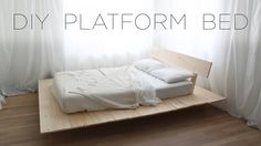 DIY Platform Bed | Modern DIY Furniture Projects from HomeMade Modern
