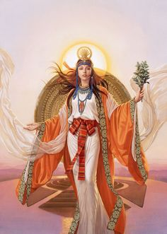 This page lists the works of Tsuyoshi Nagano, an active Tokyo Illustrators Society (TIS) member. Egyptian Goddess, Goddess Art, Egyptian Art, Egyptian Costume, Egyptian Jewelry, Amaterasu, Character Inspiration, Character Art, Character Design