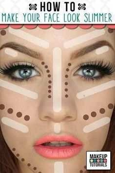 Chubby face? Make your face look slim with this tutorial
