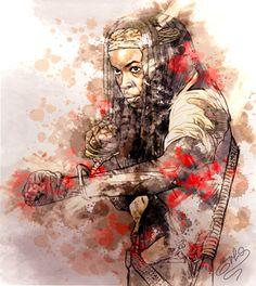 #thewalkingdead #Michonne #DanaiGurira