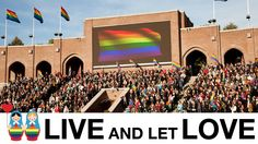 LIVE AND LET LOVE - Russian National Anthem I stand firm with these people. LOVE IS LOVE. In Gods eyes, we are ALL equal!!