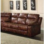Acme Furniture - Dyson Microfiber Motion Sofa in Light Brown - 50815