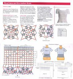 blusas de manga curta - Elisiane Severo - Álbumes web de Picasa