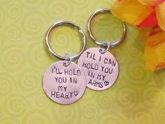 Love Quote Keychain -- Boyfriend/ Girlfriend -- Engagement -- Long Distance Relationships -- Just Because gift-ideas-for-the-boy