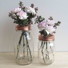 Copper Flower Jar 950ml