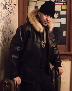 Pelle Pelle Fall & Winter 2013 with #FrenchMontana