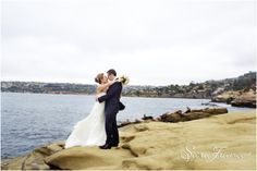La Valencia Wedding ~SARA FRANCE PHOTOGRAPHY~ Bride and Groom. La Jolla. San Diego. Love. Beach. View. Just Married. Love.