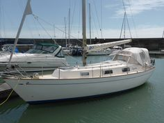 For Sale 1976 version of this popular no-nonsense sturdy long distance cruiser from Hallberg-Rassy. Aquarius has been upgraded with new engine, spray hood, anchor and much more! New Engine, I Cool, Long Distance, Aquarius, Brighton, Sailing, Boat, Goldfish Bowl, Candle
