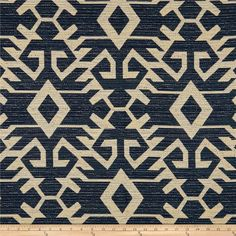 This lovely, very heavyweight jacquard fabric features is soft and perfect for heavyweight upholstery projects like furniture, ottomans and headboards. Colors include shades of beige and shades of blue.