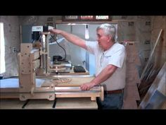 How to Build a CNC Router On A Shoestring Budget Part Seven - YouTube