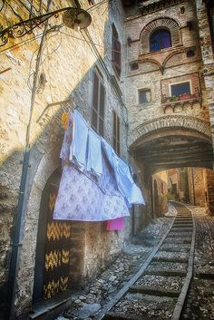 Narni, Umbria-Italy | Washer Odor? | Sour Smelling Towels? | Stinky Clean Laundry? | http://WasherFan.com | Permanently Eliminate or Prevent Washer & Laundry Odor with Washer Fan™ Breeze™ | #Laundry #WasherOdor