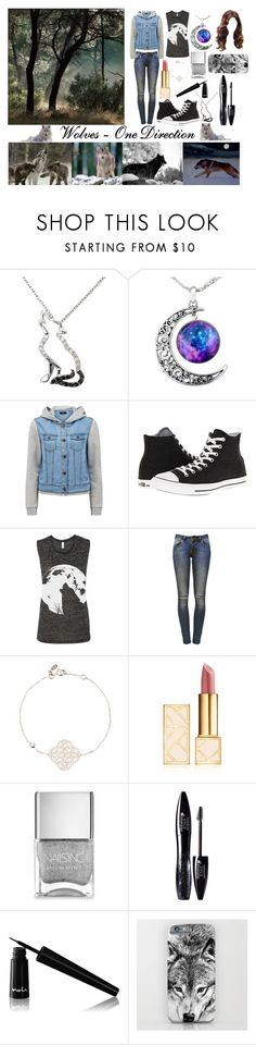 """Wolves ~ One Direction"" by redheadmahomiemidnightredaustin ❤ liked on Polyvore featuring Malin + Mila, Forever New, Converse, Anine Bing, Latelita, Tory Burch, Nails Inc., Lancôme and Noir Cosmetics"