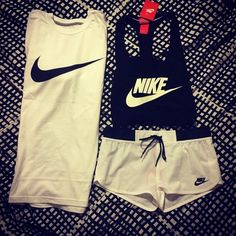 cute workout clothes. #nike