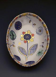 Oval Dish Liz Quackenbush
