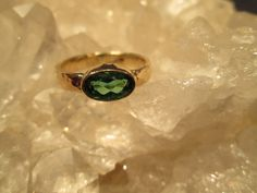 Rare Blue-Green Tourmaline Ring ~14K. Gold~ Handmade Hammered Shank by GoldConspiracy on Etsy https://www.etsy.com/listing/464258637/rare-blue-green-tourmaline-ring-14k-gold