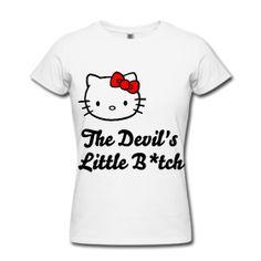 bitch Hello Kitty stuff | Hello Kitty , Devil's Little Bitch ! LMAO | Colossus Clothing