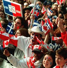 Click on the link here for Audio Player - CBC Radio Canada - Quebec Referendum Election Results - Oct. 30, 1995 - Gordon Skene Sound Collection As the results from last nights Referendum over Scotl...