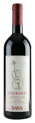 In stock - 42,89€ 1999 Bava Stradivario, Barbera d'Asti, red dry , Italy - 89pt Wine of light garnet colour with brown rim and brick metamorphoses. Delicate aroma of sweet stone fruit is enriched by dried wallflowers, pepper and with slight hint of cedar wood. Pleasantly full, rounded, warm, balanced taste with full, matured tanstuffs and hint of marmelade. The end of the wine is longer, velvet.