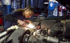 """Shortly after the recession, Fordin founded Women Auto Know, a free workshop that educates women on how to maintain cars and recognize signs that a mechanic is cheating them. """"It was to give them a backbone because they were saying that they needed it,"""" she said."""