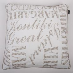 In The Mood Collection© Kontiki Cushion Cover - Sand