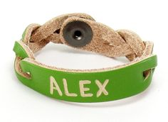 Personalized Name Bracelet Example Gallery