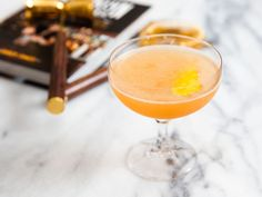 Made with bourbon, fresh lemon, and citrusy Montenegro Amaro, this cocktail is a complex whiskey sour, packed full of flavor thanks to a pour of pamplemousse, a rich grapefruit liqueur.