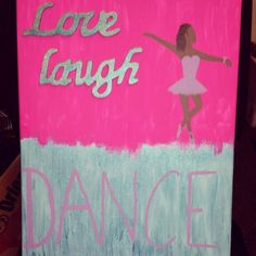Acrylic on canvas and wooden words