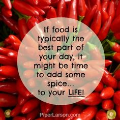 If food is typically the best part of each day...