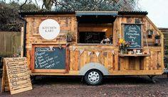 Pallets Mobile Kitchen Kart