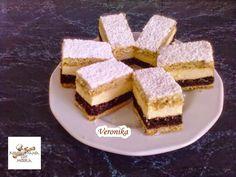TutiReceptek és hasznos cikkek oldala: Nevesincs krémes. Hungarian Recipes, Sauerkraut, Cake Cookies, French Toast, Recipies, Cheesecake, Dessert Recipes, Food And Drink, Cooking Recipes