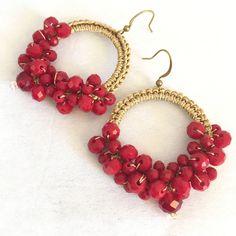 Un preferito personale dal mio negozio Etsy https://www.etsy.com/it/listing/563537781/earrings-drops-of-color-crochet-earrings