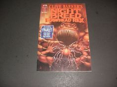 Clive barkers NIGHT BREED VS. RAWHEAD REX start the bid at $2.00 or buy it now for $5.00+ ship!!!