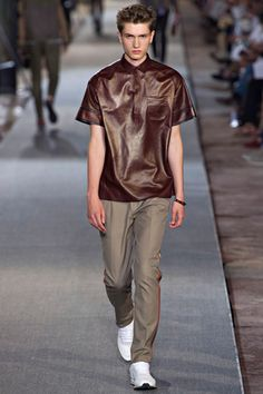My personal favorite from Valentino Spring 2013 Menswear Collection