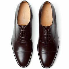 Shoe Porn: Jack Erwin Cap Toe Oxford
