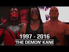 WWE 2K17: The Evolution of Kane (1997 - 2016) - YouTube