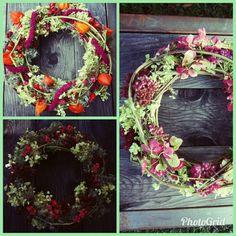 Homemade Things, Grapevine Wreath, Grape Vines, Floral Wreath, Wreaths, Home Decor, Homemade Home Decor, Door Wreaths, Vineyard Vines
