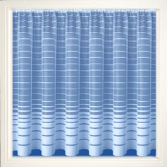Net Curtain 105 (stripe) Pattern '105' Available in the following drop lengths – 36″, 40″, 45″, 48″, 54″, 72″, 90″ Curtains are 100% Polyester – Hand Washable at 30 degrees