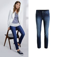 The perfect combination of  'comfort & style': Check out our new #Esprit favorite #jeans!