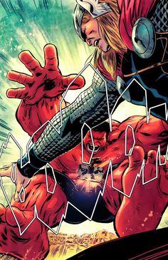 Thor vs Rulk | #comics #marvel #thor #rulk