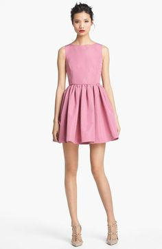RED Valentino Full Skirt Faille Dress available at #Nordstrom